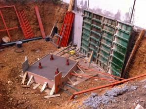 Construcción completa. Edificación y vivienda unifamiliar